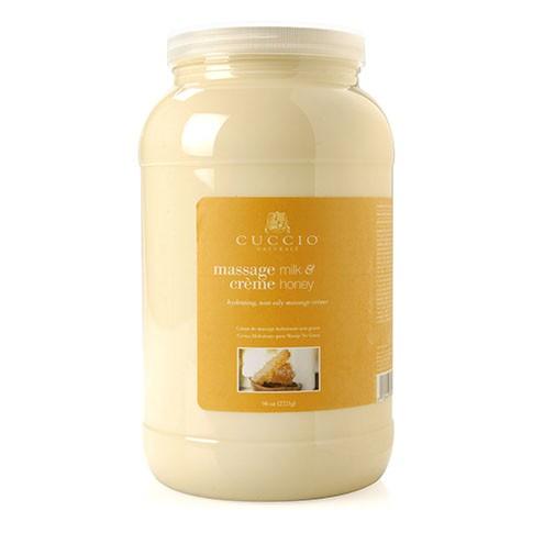 Cuccio masszázskrém tejjel és mézzel (Massage cream milk and honey)